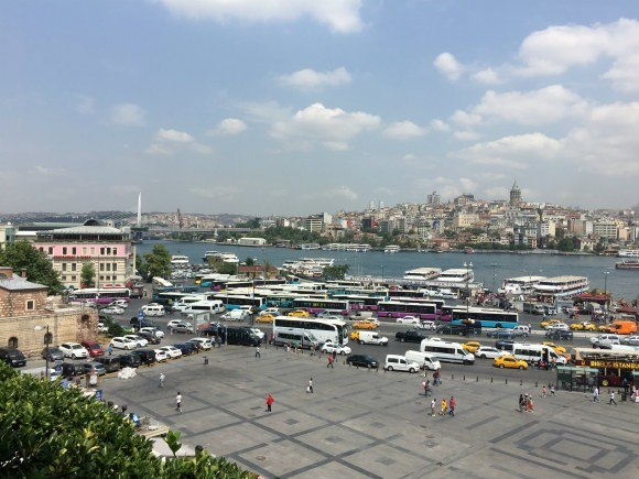 View of Istanbul near the Galata Bridge Photo: Heatheronhertravels.com