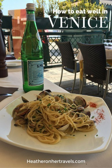 Read about how to eat well in Venice
