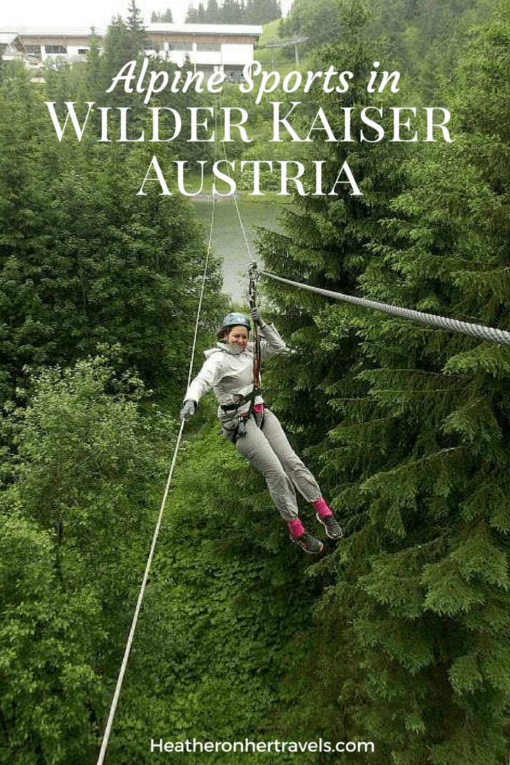 Treetop Climbing In Wilder Kaiser Austria Heather On