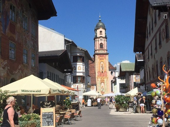 Mittenwald hikes in Germany with Headwater Holidays Photo: Heatheronhertravels.com