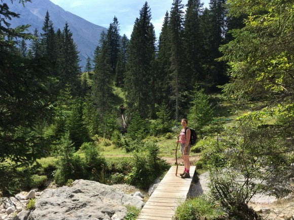 Walking down through the Gaistal Valley in Austria Photo: Heatheronhertravels.com