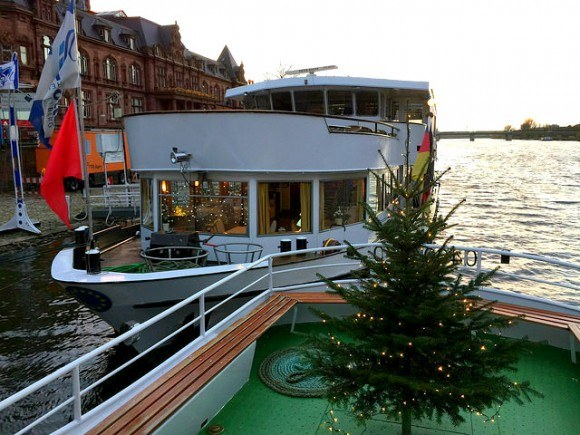 Taking the Boat trip on the Neckar Photo: Heatheronhertravels.com