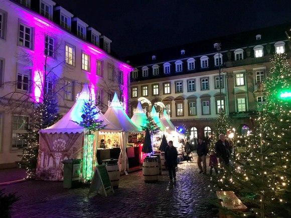 Christmas Market in Kornmarkt of Heidelberg Photo: Heatheronhertravels.com