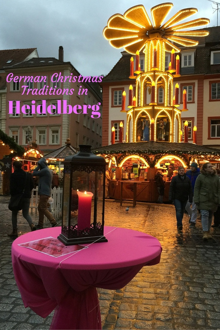 Read about German Christmas Traditions in Heidelberg, Germany