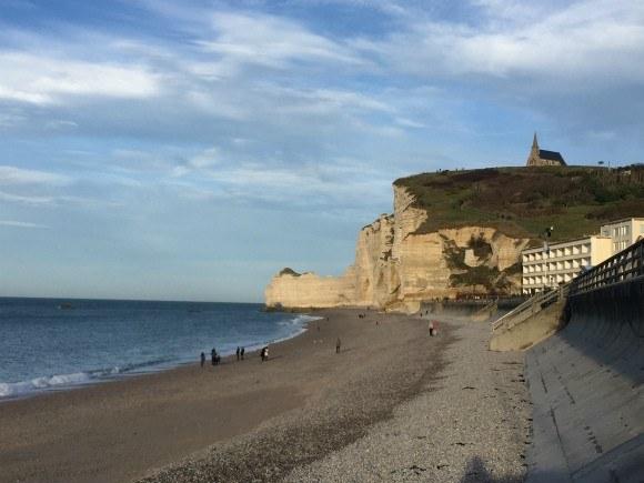 Beach at Etretat in Normandy Photo: Heatheronhertravels.com