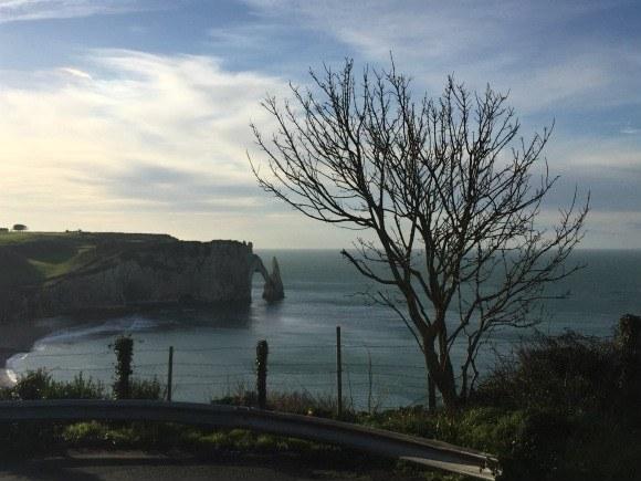 Cliffs arch at Etretat in Normandy Photo: Heatheronhertravels.com