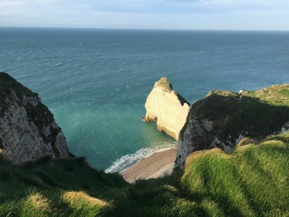 Cliffs at Etretat in Normandy Photo: Heatheronhertravels.com