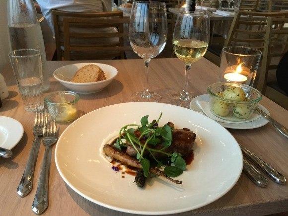 Dinner at Kurhotel Skodsbourg in Copenhagen Photo: Heatheronhertravels.com