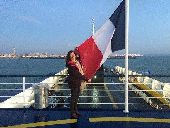 Leaving Le Havre on Brittany Ferries Photo: Heatheronhertravels.com