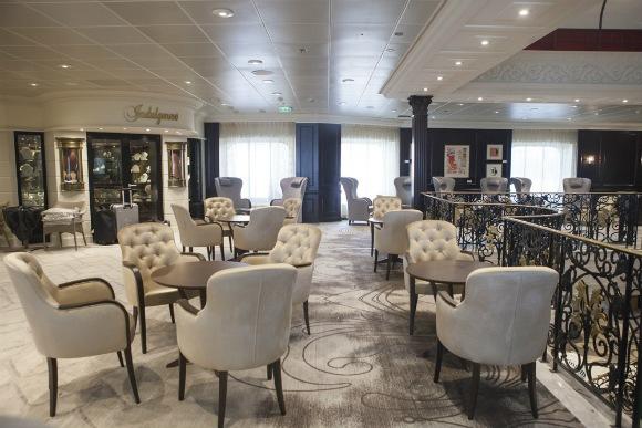 Mosaic cafe re-imagined on Azamara Club Cruises Photo: Azamara Club Cruises