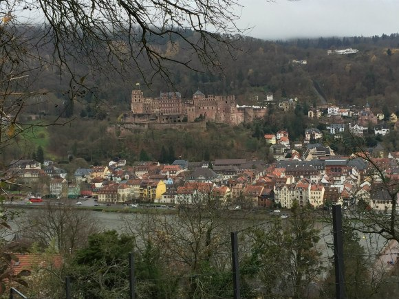 View from the Philosopher's way in Heidelberg Photo: Heatheronhertravels.com