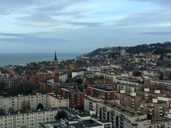 View from the town hall of Le Havre in Normandy Photo: Heatheronhertravels.com