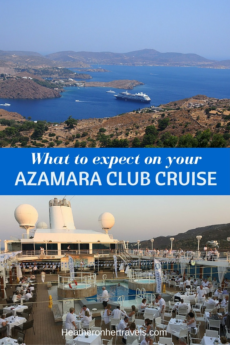 Read what to expect on your Azamara Club Cruise