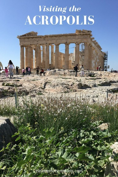 Read about visiting the Acropolis in Athens, Greece