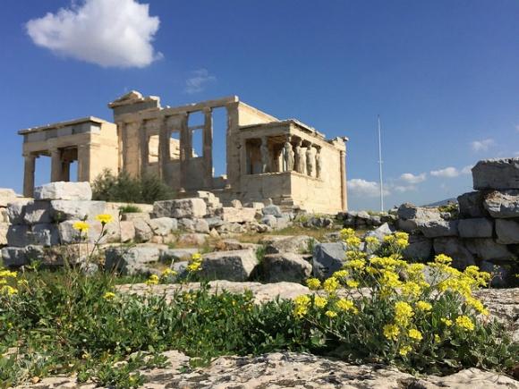 Acropolis in Athens Photo: Heatheronhertravels.com