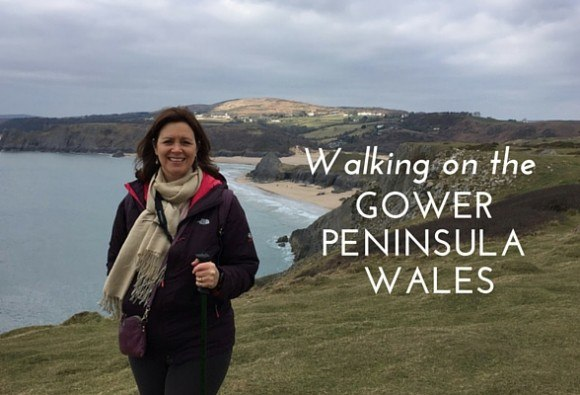 Walking on the Gower Peninsula in Wales Photo: Heatheronhertravels.com
