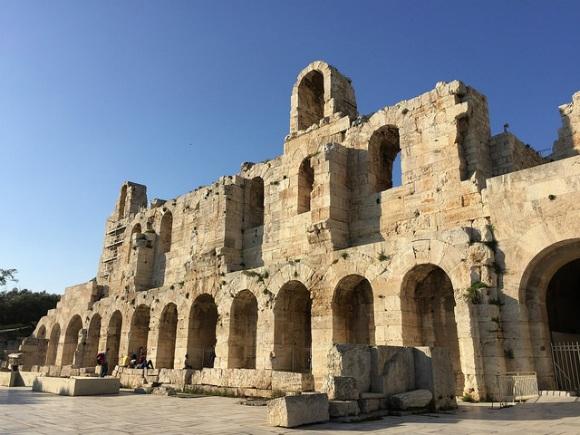 Odeion of Herodes Atticus in Athens Heatheronhertravels.com