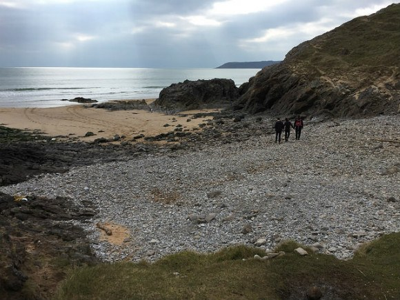 Pobbles Beach on the Gower, Wales Heatheronhertravels.com