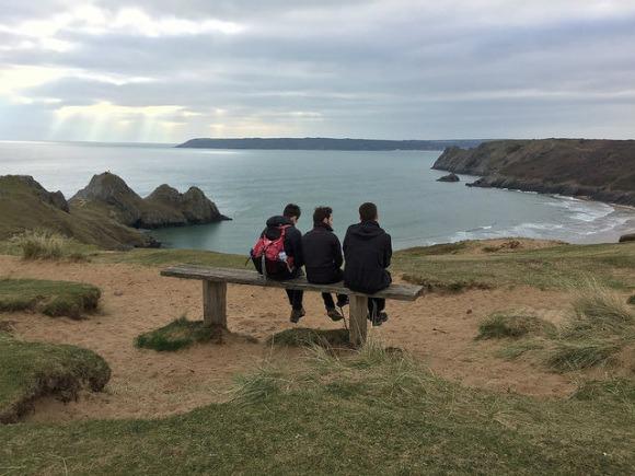 Three Cliffs Bay in the Gower, Wales Heatheronhertravels.com