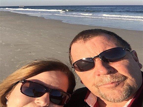 Sawgrass Marriott Beach Selfie