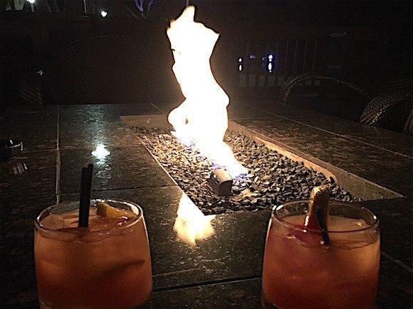 Sawgrass Marriott Cocktails Firepit