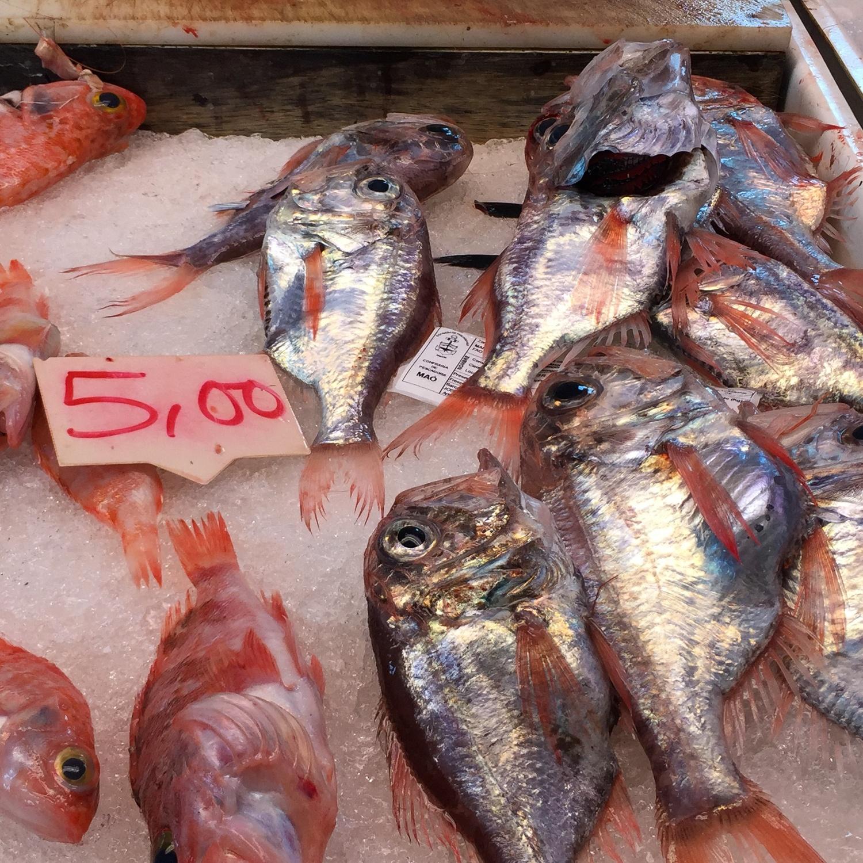 Fishmarket in Mahon in Menorca Photo Heatheronhertravels.com