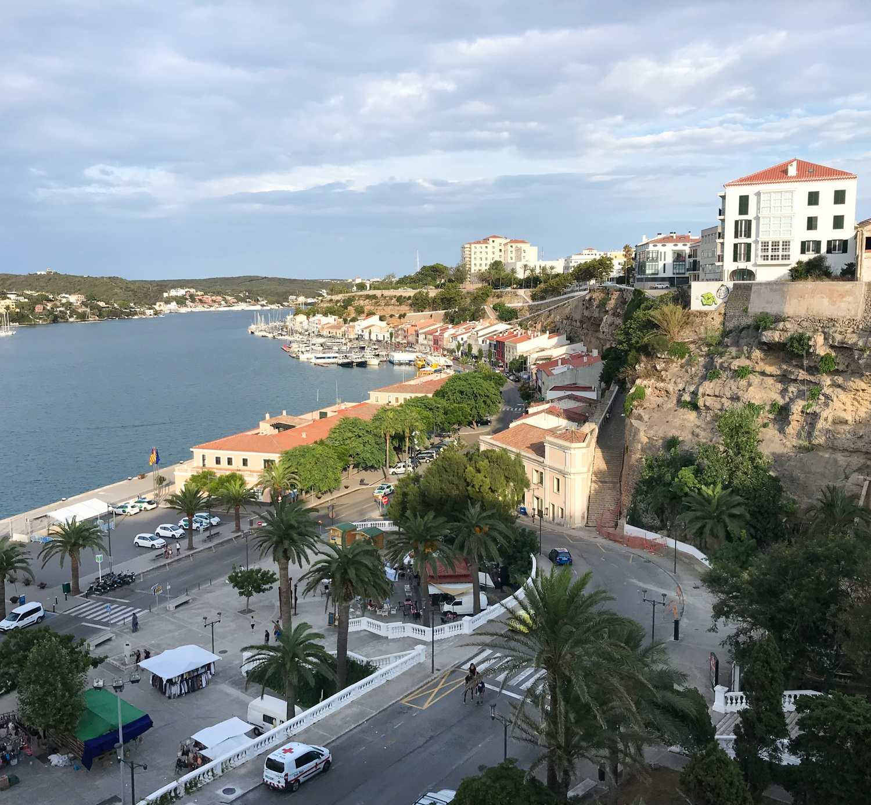 Mahon Harbour in Menorca Photo Heatheronhertravels.com