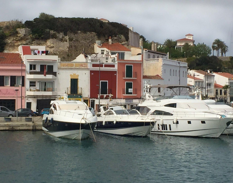 Mahon port in Menorca Photo Heatheronhertravels.com