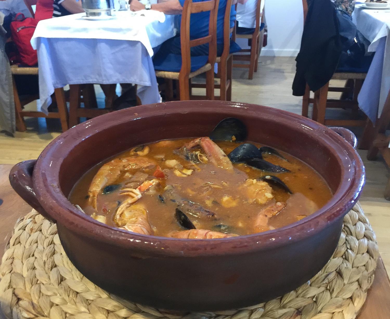 Seafood in Mahon in Menorca Photo Heatheronhertravels.com