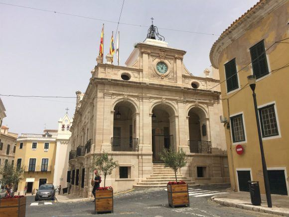 The old town hall of Mahon Photo Heatheronhertravels.com