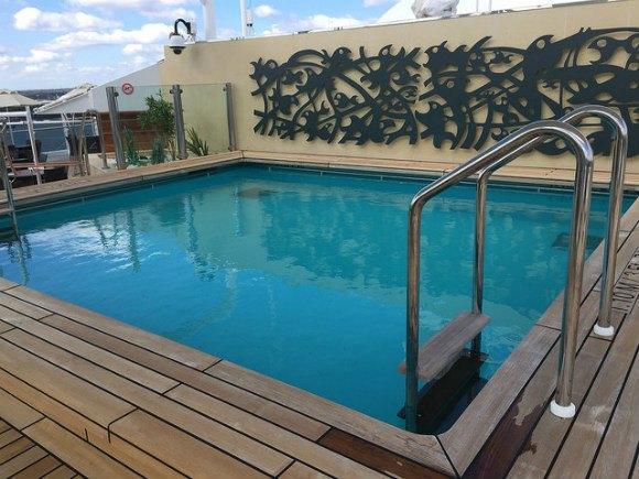 Yacht Club Pool on MSC Splendida Heatheronhertravels.com