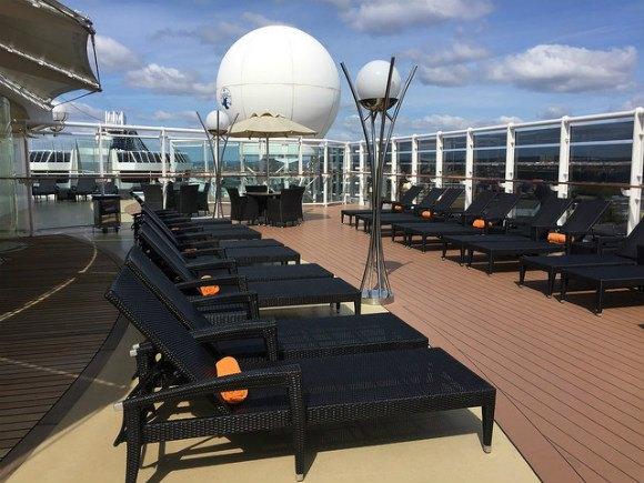 Yacht Club pool deck on MSC Splendida Heatheronhertravels.com