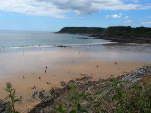 Caswell Beach on the Gower Peninsula Photo: Heatheronhertravels.com
