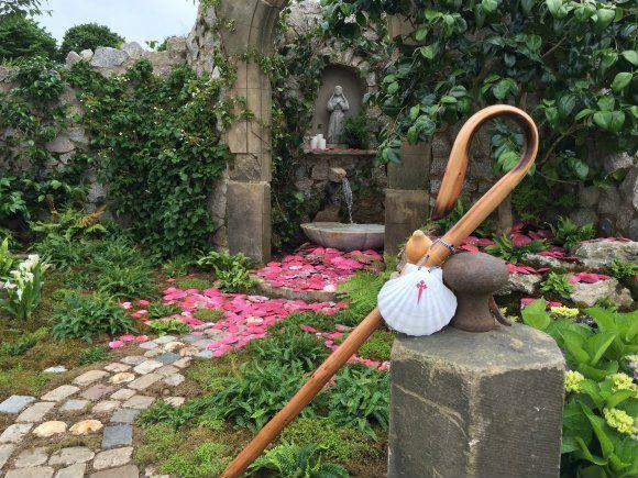 Galicia Garden at RHS Hampton Court Flower Show Photo Heatheronhertravels.com