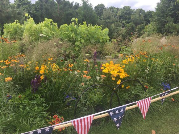 Oregon Garden at RHS Hampton Court Flower Show Photo Heatheronhertravels.com