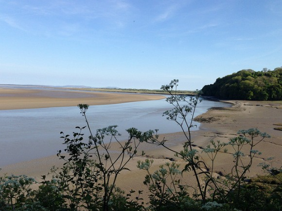 View over the Laugherne estuary Photo: Heatheronhertravels.com