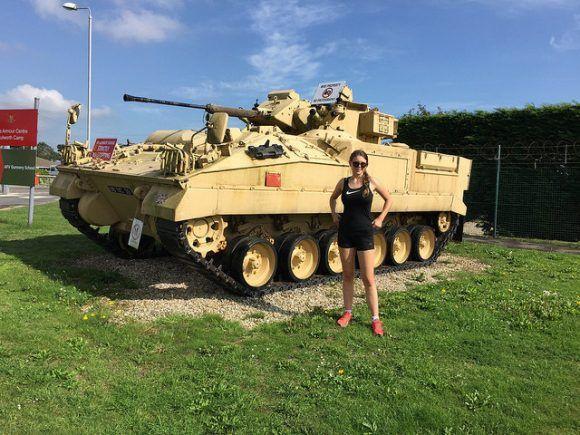 Tank at Lulworth Photo: Heatheronhertravels.com