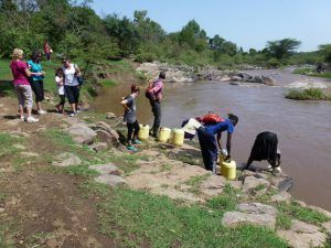 Collecting water from the river Photo: Heatheronhertravels.com