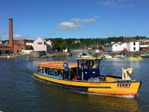 Ferry in Bristol Harbour