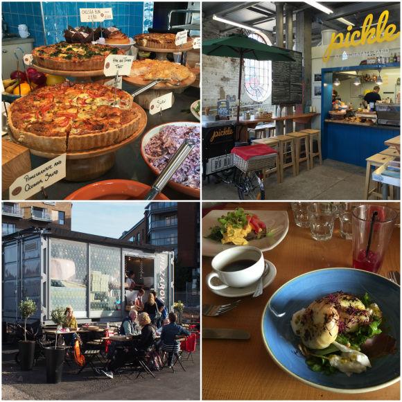 Food around Bristol Harbour