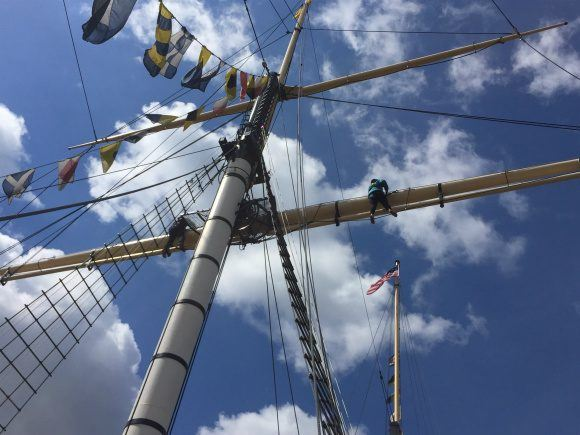 Go Aloft with SS Great Britain