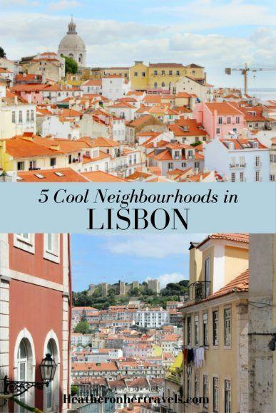 Read about 5 cool neighbourhoods in Lisbon