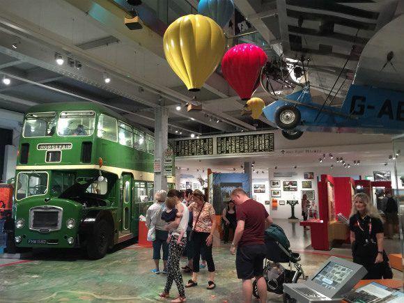 Inside M-shed in Bristol