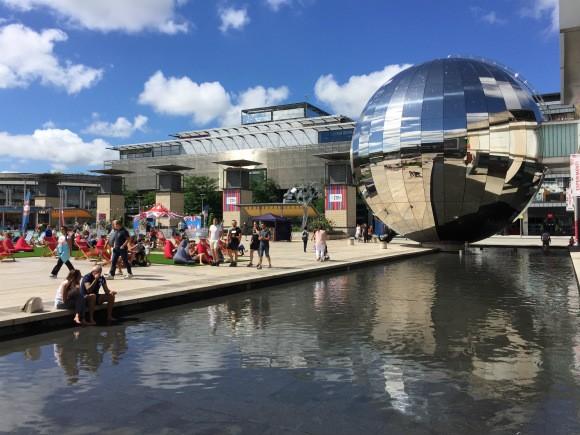 Millennium Square In Bristol