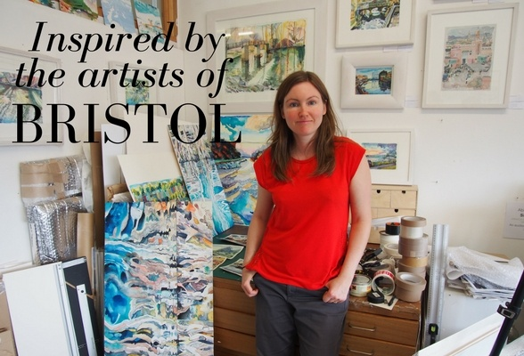 Inspired by the artists of Bristol