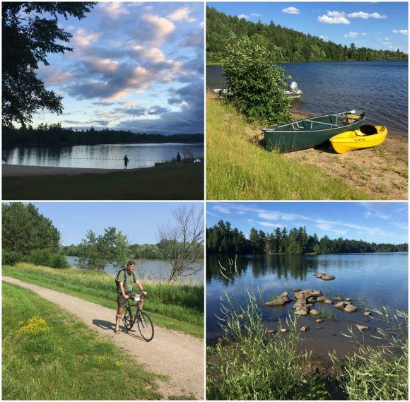 Lakes in our campgrounds in Canada Photo: Heatheronhertravels.com
