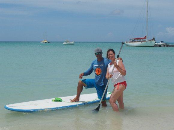 Paddleboarding in Aruba Photo: Heatheeronhertravels.com