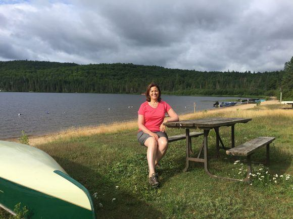 Rock Lake in Algonquin Provincial Park