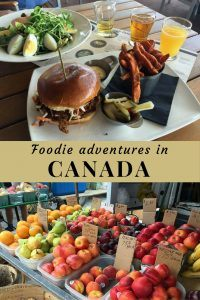 Food adventures in Canada