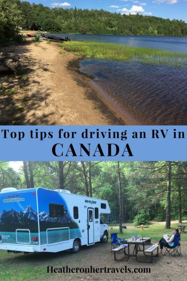 Read about driving an RV from Toronto to Montreal